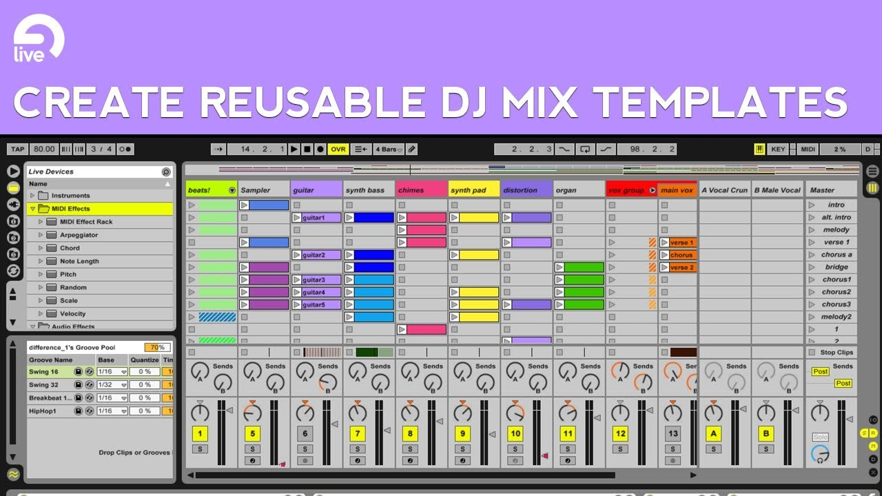 ableton live mixing tutorial