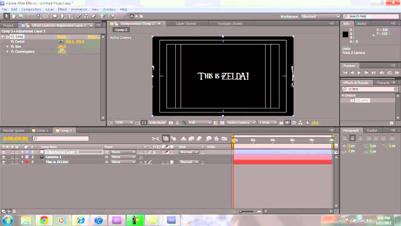 after effects trailer tutorial