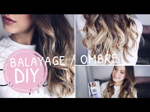 ombre hair at home tutorial