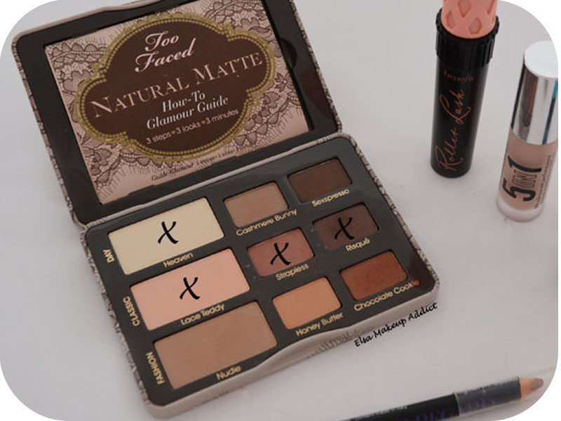 two faced natural matte tutorial