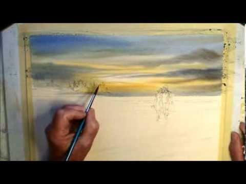 video tutorial on watercolor painting